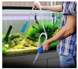 Aspirador manual con bomba para tener un acuario más limpio ...