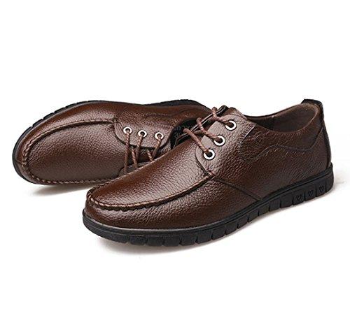 Respirantes des Mode Printemps De Brown De Hommes Chaussures LEDLFIE Classiques Chaussures des Occasionnelles des Hommes AxpwqwU5