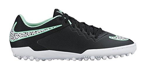 Nike Hypervenomx Pro Tf Mens Fotbollsskor 749904 Fotbollsskor Svart Vit Grön Glöd 013