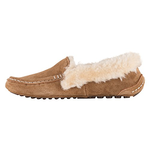 Pictures of Lamo Women's Ausie Moc Slip-On Loafer Chestnut 4
