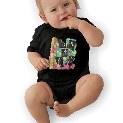 New Kids On The Block Boys Bodysuit Cute Black