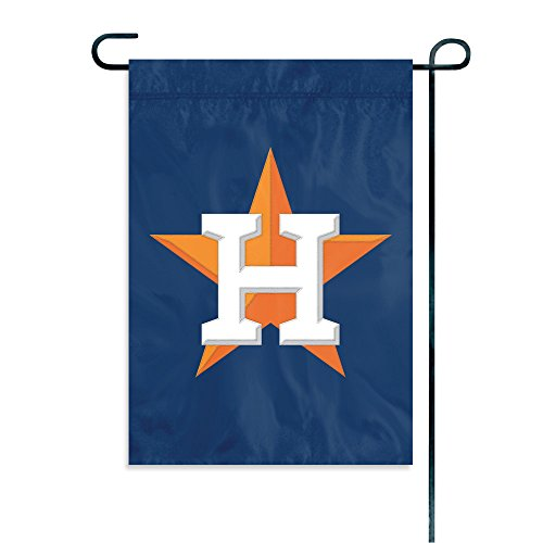 "The Party Animal MLB Houston Astros MLB Garden Flag, Blue, 18"" x 12.5"""