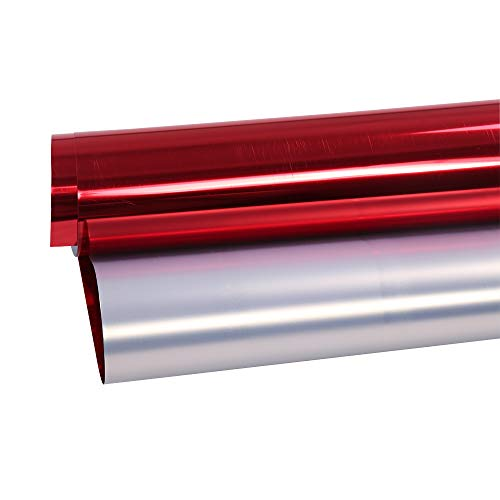 """HOHOFILM 20""""x12"""" Metallic Red Heat Transfer Vinyl Cutting, used for sale  Delivered anywhere in Canada"""