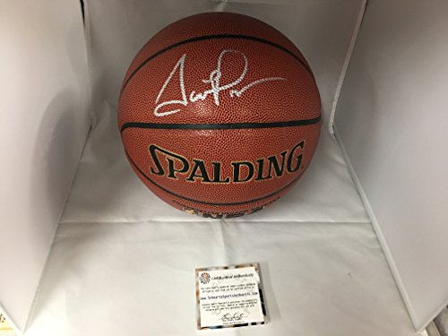 Scottie Pippen Autographed Signed Chicago Bulls Basketball Schwartz Sports COA & Hologram (Basketball Signed)