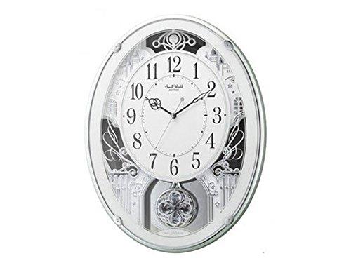 シチズン CITIZEN リズム時計製 メロディ電波掛け時計 4MN523RH05 [並行輸入品] B01JOMPI88