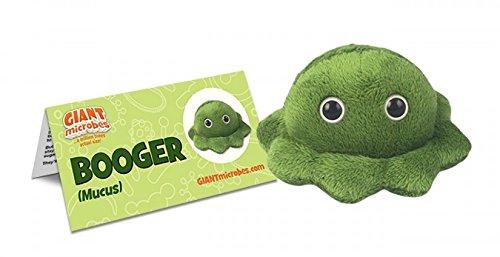 GIANTmicrobes Booger Plush Toy
