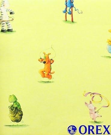 Villa Coppenrath Tapete Kindertapete Vlies Lieben Sieben  Gelb Tapete Kinder Amazon De Baumarkt