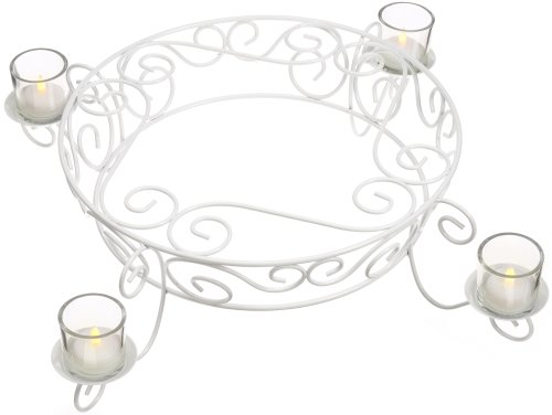 Wilton 307-351 Candlelight Cake and Cupcake Stand ()