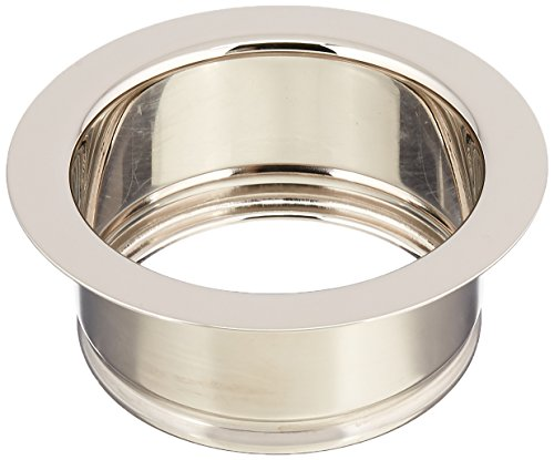 Rohl 743PN I.S.E. Disposal Throat, Escutcheon or Flange, Polished Nickel by Rohl