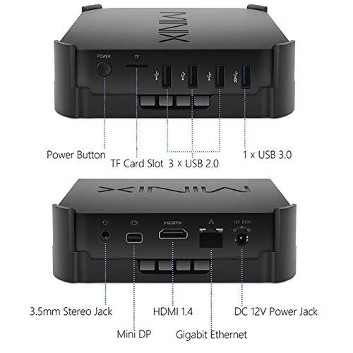 Kimmy  NEO Z83-4プロテレビボックス公式のWindows 10プロミニPCインテルAtom x 5 - Z8350 4ギガバイト/ 32ギガバイトAC WIFI 1000 M LAN HDMIスマートテレビボックス 7#  7# B07QQQGWHD