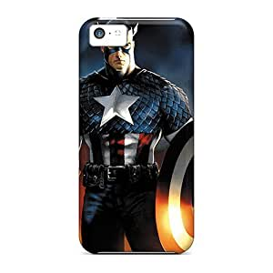 Forever Collectibles Captain America I4 Hard Snap-on Iphone 5c Case