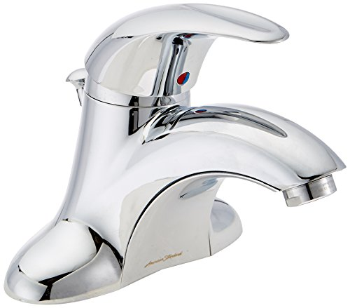85.045.002 Reliant 3 Single Metal Lever Handle Centerset Lavatory Faucet with Metal Speed Connect Pop-Up Drain, Polished Chrome (Metal Lever Handle Centerset)