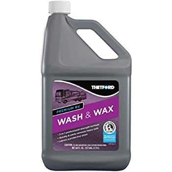 Amazon Com Premium Rv Wash And Wax Detergent And Wax For