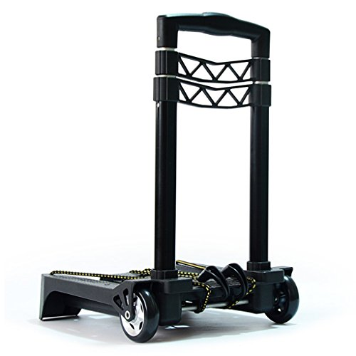 Hand truck Nationwel@ Shopping Cart Shopping Cart Folding Hand Trolley Aluminum Alloy Trolley Small Portable Home Trailers Lightweight