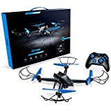 Airhawk M-13 Drone With SuperHD Camera +  360 Degree Flips + Bright LED Lights + Headless Mode + Long Lasting Battery + includes spare set of propellers - Great For Beginner And Expert Pilots