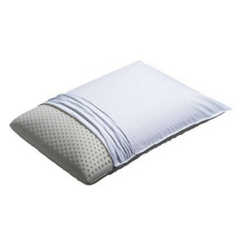 Simmons Beautyrest Latex Pillows made with natural latex foam and has a breathable interior cell (Queen)
