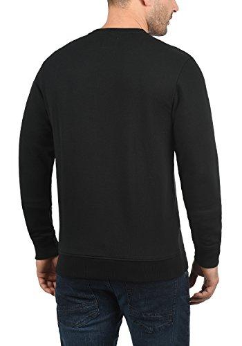 Poitrine De Avec Homme Blend Encolure Black Pull Rond En Poche Sweat 70155 Pour shirt Sweat Jesper fwfOWqFT