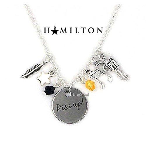 BlingSoul AnastasiaBroadwayNecklace Jewelry - Alexander Hamilton Musical Merchandise Women (Anastasia Costume)