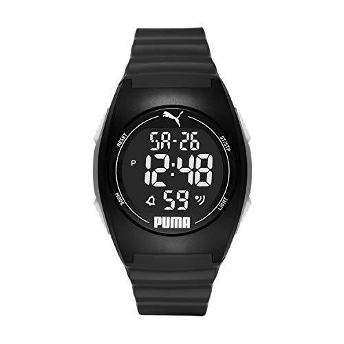 ساعت مچی پوما مدل P6015 با بدنه پلی اورتان و بند پلاستیکی