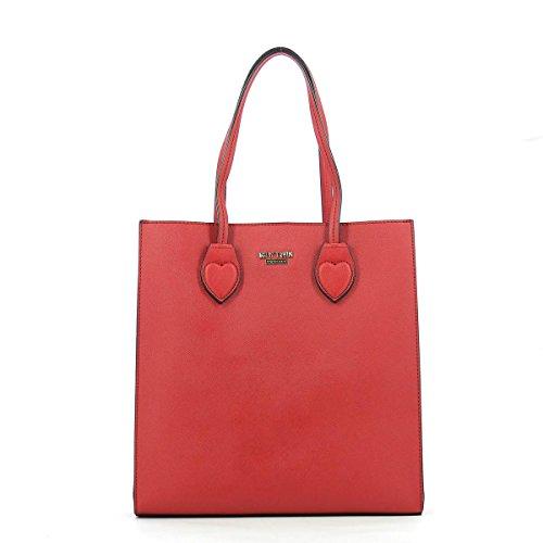 Mon sac bandoulière vertical bicolore rubis