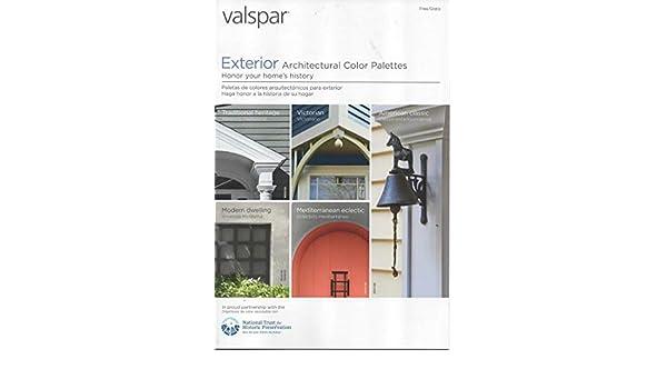 Valspar Paint Catalog Exterior Architectural Color Palettes