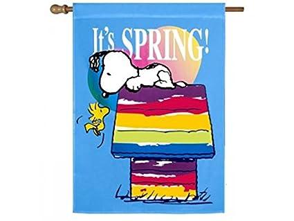 Amazon com : Peanuts Snoopy & Woodstock     It's SPRING