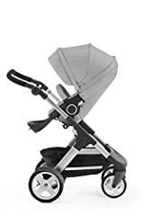 Stokke Trailz with classic wheels is our amazing flexible comfort stroller designed to take your family wherever you want to go effortlessly with ease. Like all Stokke strollers, the seat and carry cot position are placed high up to encourage...