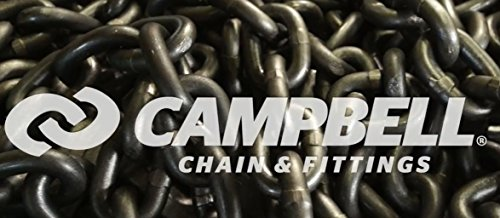CAMPBELL ALLOY CHAIN,7/8,S/P,100'/DRM (100 Each) 405812