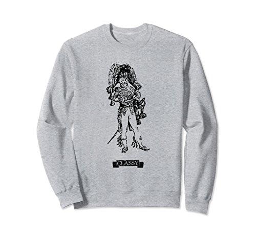 Unisex Classy Sweatshirt Small Heather - Classy Duds