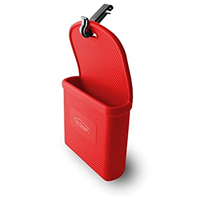 FH Group FH3022RED Red Silicone Car Vent Mounted Phone Holder (Smartphone works with IPhone Plus Galaxy Note Red Color): Automotive