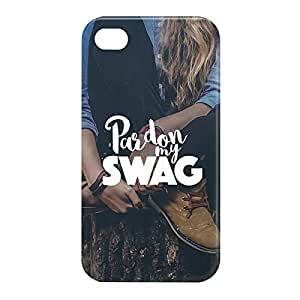 Loud Universe Apple iPhone 4/4s 3D Wrap Around Pardon My Swag Print Cover - Multi Color