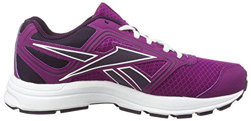 Rose Reebok de Royalorchid Solaryellow Zone Fiercefuchsia Femme Wht Running Crushrun Chaussures qraFxwYrH