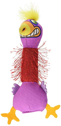 Petstages 744 Madcap Boingy Bird Cat Catnip Toss and Bat Plush Toy