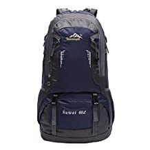 MagiDeal 60L Large Waterproof Outdoor Backpack Sport Camping Hiking Mountaineering Travel Rucksack Luggage Bag - 6 Colors