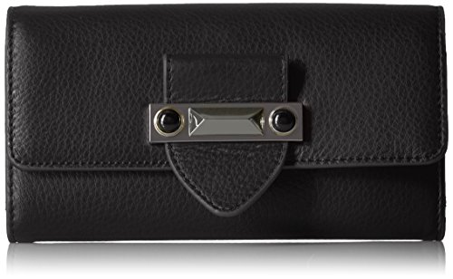 Vince Camuto Women's Bitty Wallet, Noir, One Size