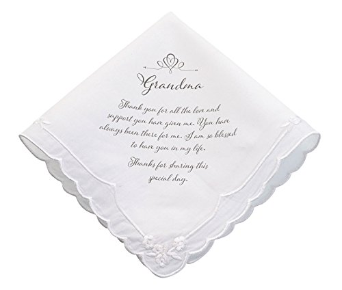 Lillian Rose Grandma Verse Wedding Gift Keepsake Hankie