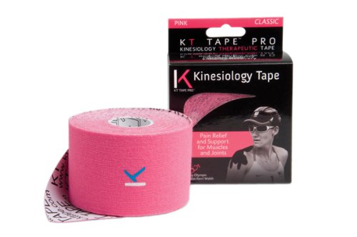 Fabrication Enterprises Kinesiology Tape , 2''X16' Pink Set Of 8 Rolls (Classic)