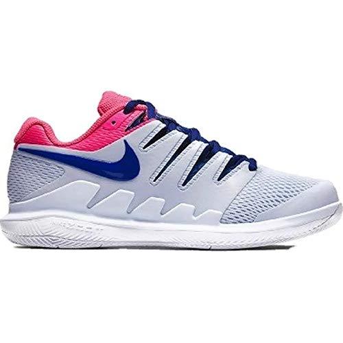 Nike Women's Air Zoom Vapor X Half Blue/Indigo Force/Pink Blast/White 7.5 B US