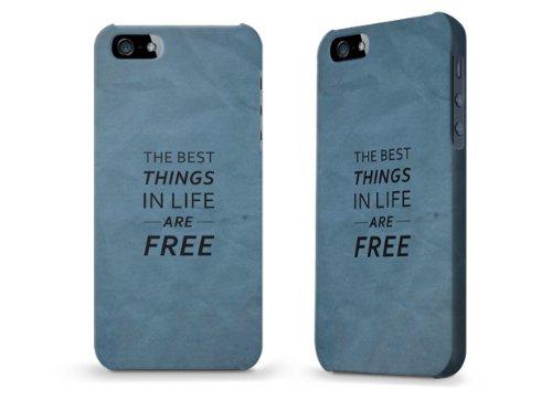 """Hülle / Case / Cover für iPhone 5 und 5s - """"best things navi"""""""