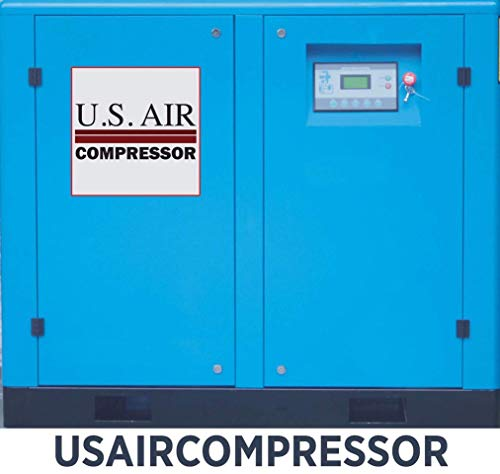US Air 10 HP Vfd Variable Frequency Rotary Screw Compressor Ingersoll Rand Filter
