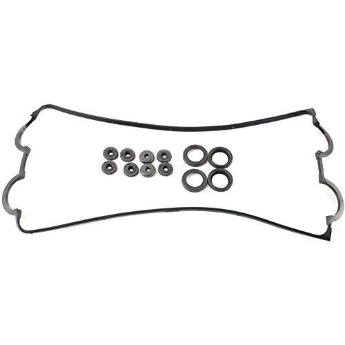 Valve Cover Gasket compatible with Acura Integra 94-01 Valve Cover Gasket W/Rubber Gasket Grommets and Spark Plug Tube Seals