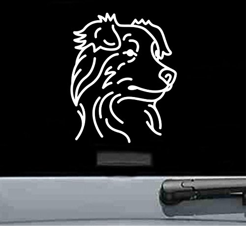 Australian shepherd decals for cars