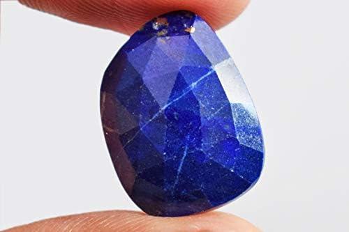 109.20 Crt 50x45x5 mm. High Quality Best Design Natural Blue Lapis Cabochon Gemstone Handmade polished Loose Gemstone Jewelry Making