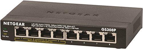 NETGEAR Gigabit Unmanaged 4xPoE