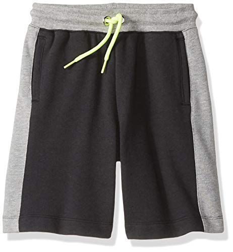 Spotted Zebra Boys' Toddler & Kids Colorblock French Terry Shorts