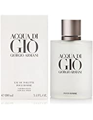 Acqua Di Gio By Giorgio Armani For Men. Eau De Toilette Spray 3.4 Fl Oz