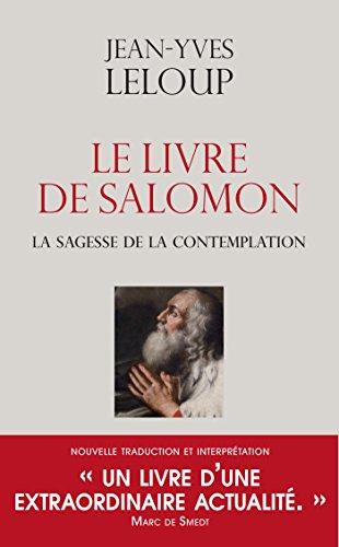 Le livre de Salomon: La sagesse de la contemplation (French Edition)