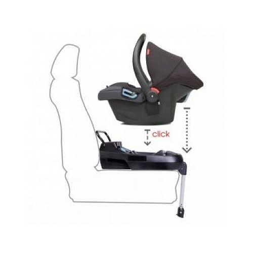 phil&teds Alpha & Protect Isofix Car Seat Base