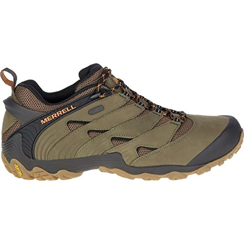 Dusty Olive - Merrell Men's Chameleon 7 Waterproof Hiking Shoe, Dusty Olive, 09.0 M US