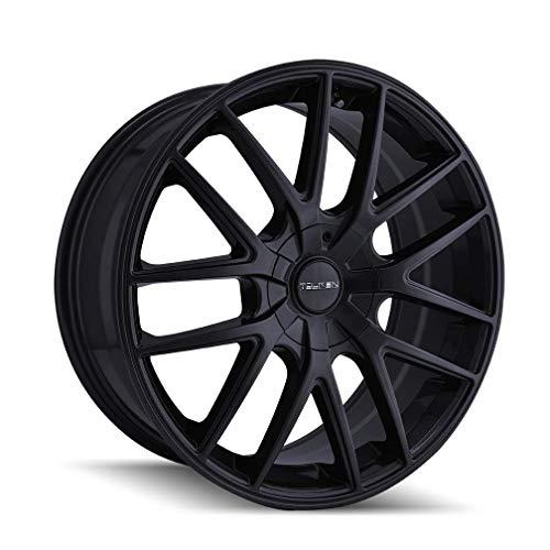 - TOUREN TR60 (3260) FULL MATTE BLACK: 18x8 Wheel Size; 5-108/5-114.3 Lug Pattern, 72.62mm Bore, 40mm Offset.